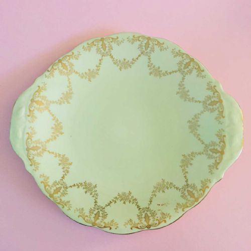 Shore & Coggins - Queen Anne - Cake Bread Sandwich Plate